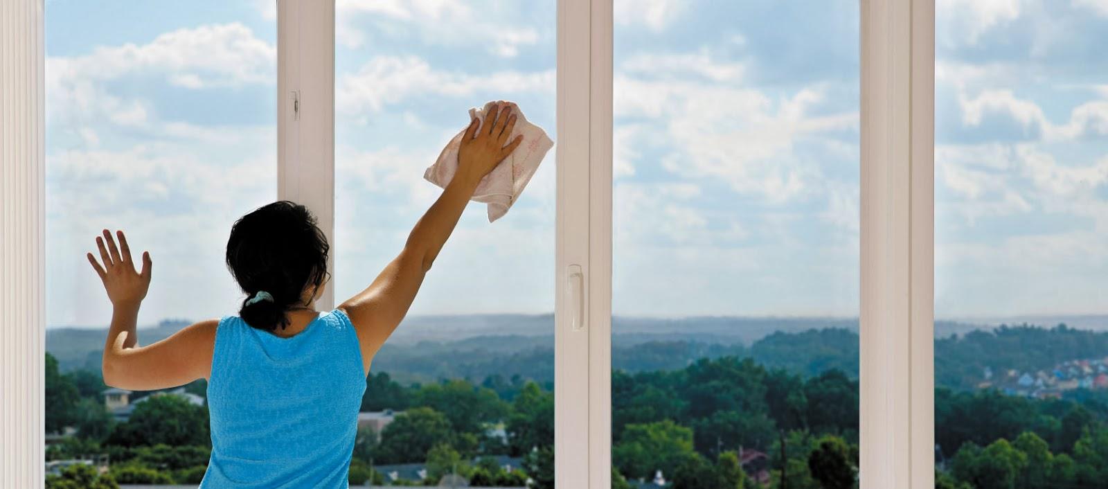 Come pulire i vetri delle finestre - Vetri a specchio per finestre ...